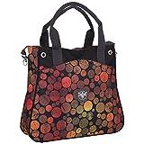 Chiemsee Damen Umhängetasche Ladies Handbag Small, Dots Black, 42 x 37 x 11 cm, 5070043