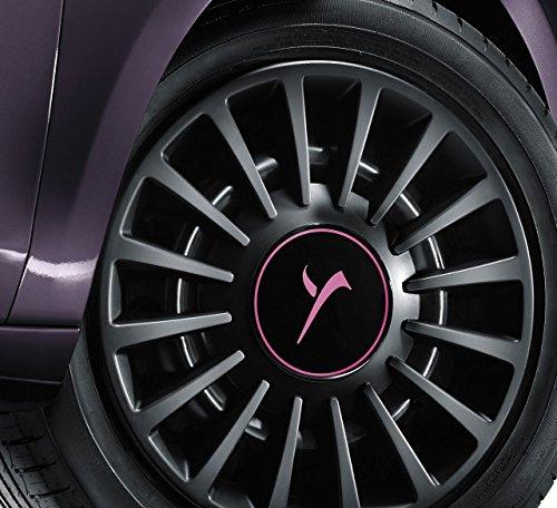 FCA 1 copricerchio Coppa Ruota Lancia Ypsilon 2011> 15' Originale Logo elefantino Ros