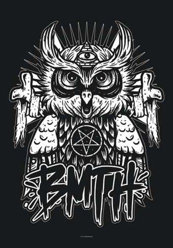 Empire Merchandising Bring Me The Horizon poster Bandiera Gufo