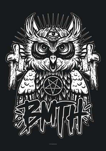 Empire Merchandising Bring Me The Horizon poster Bandiera Gufo