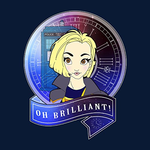Doctor Who Oh Brilliant Thirteenth Doctor Women's Sweatshirt Navy blue