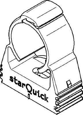 BETTERMANN Rohrschelle StarQuick 15.5mm, Kst, gr SQ-15 von BETTERMANN auf Lampenhans.de