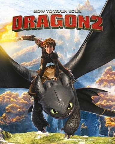dragons-mini-poster-how-to-train-your-dragon-2-rocks-accessoires-pas-de-cadre