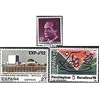 Prophila Collection España 3028,3029,3061 (completa.edición.) 1992 Juan carlos, expo, Olimpia (sellos para los coleccionistas) juegos Olímpicos