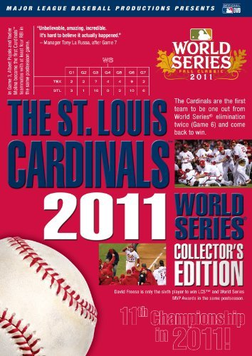St. Louis Cardinals: 2011 World Series Collectors Edition by Major League Baseball Louis Cardinals Video