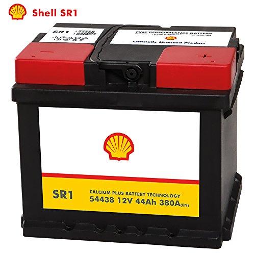 Shell Autobatterie 12V 44Ah SR1 ersetzt 40AH 41AH 42AH 45AH 46AH 47AH