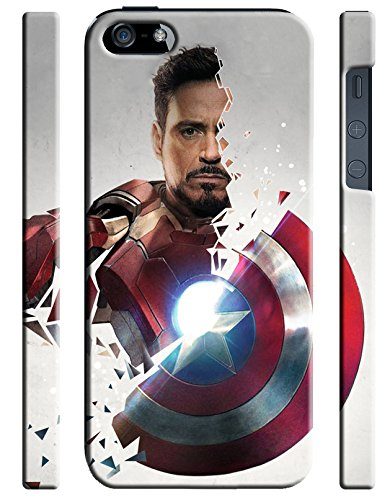 Captain America: Civil War Characters for Cover iPhone 5 5s Hard Case Cover [war1] C7T9XF