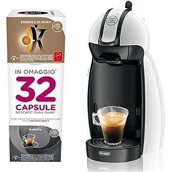 Dolce Gusto EDG100.W Nescafe Piccolo Macchina per Caffè Espresso e Altre Bevande, Bianco