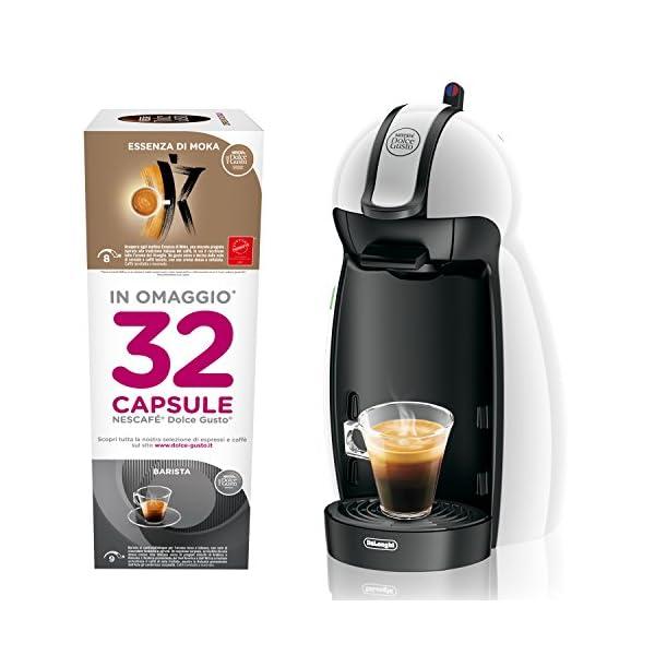 Dolce Gusto KP100BKP Nescafe Piccolo Macchina per Caffe Espresso e Altre Bevande, Antracite 6 spesavip