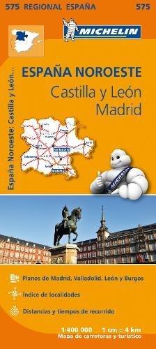 Mapa Regional Castilla y León, Madrid (Carte regionali) por Vv.Aa