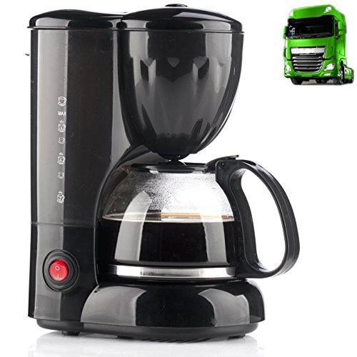Preisvergleich Produktbild LKW Kaffeemaschine 24V 250W 6Tassen Kaffeeautomat