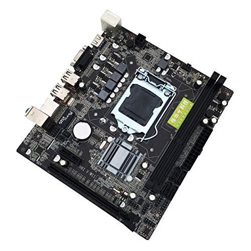 Ironheel Desktop-Computer Mainboard-Motherboard, professioneller H61 Desktop-Computer Mainboard-Motherboard 1155 Pin-CPU-Schnittstellenerweiterung USB2.0 VGA DDR3 1600/1333