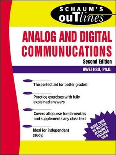Schaum's Outline of Analog and Digital Communications (Schaums' Engineering)