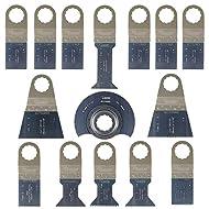 15 x SabreCut SCK15A Mix Klingen für Fein Supercut und Festool VECTURO Multitool Multi Tool Multifunktionswerkzeug Oszillierwerkzeug Zubehör