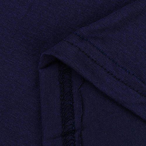 Lady Jupe Imprimée à Manches Longues Patchwork Géométrique Split Soirée Rawdah Mme Impression Robe à Manches Manchon Moyen Taille Haute Dans Un Été Frais Soirée Bal Swing Dress Pour Femmes (L, Vin Rou Marine
