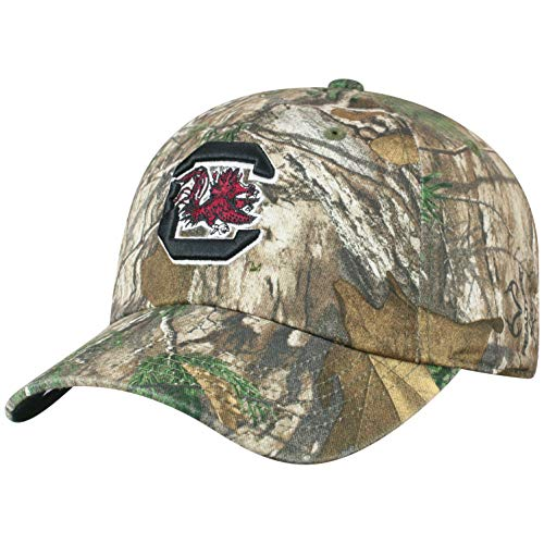 Top of the World NCAA South Carolina Fighting Gamecocks Men's Real Tree Camo Adjustable Icon Hat, Real Tree