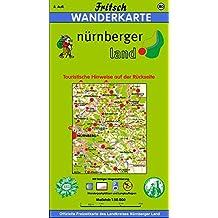 Fritsch Karten, Nr.80, Landkreis Nürnberger Land (Fritsch Wanderkarten 1:50000)
