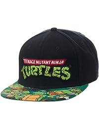 Teenage Mutant Ninja Turtles Sublimated Bill Snapback Baseball Cap