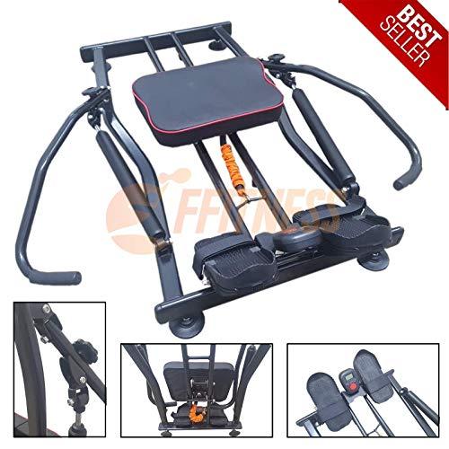 Vogatore Professionale Allenamento Home Gym Casa Resistenza idraulica Fitness Cardio Body Toner