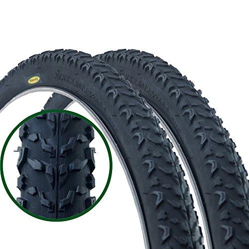 Paar Fincci Road Mountain MTB Mud Offroad Bike Fahrrad Reifen 27.5 x 2.10 52-584