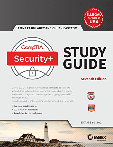 CompTIA Security + Study Guide: Exam SY0 - 501