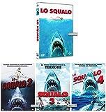 LO SQUALO - La Saga Completa (4 Film - 4 Dvd)