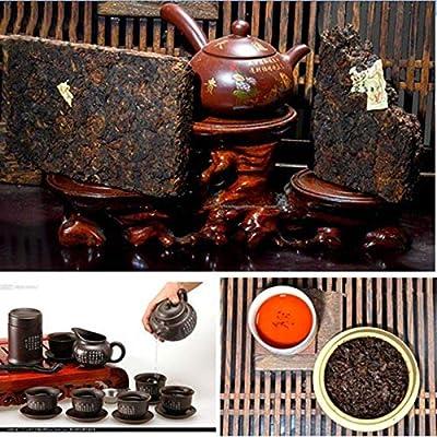 250g (0.55LB) premium vieux chinois yunnan puer thé pu'er thé à thé thé noir thé chinois thé mûr shu cha thé Puerh nourriture saine thé Pu-erh nourriture verte vieux arbres thé Pu erh thé cuit thé rouge