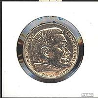 354 1934 J sehr sch/ön Nickel 1934 1 Reichsmark Reichsadler Deutsches Reich J/ägernr M/ünzen f/ür Sammler