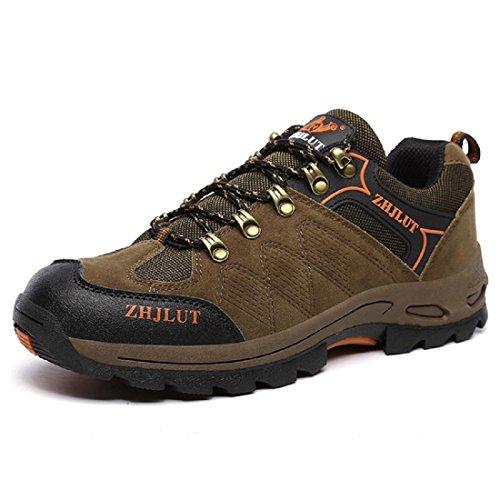 Hommes Chaussures de randonnée De plein air Chaussures de sport Antidérapant Chaussures de sport Chaussures à outils Entraînement EUR TAILLE 38-47 Brown