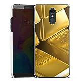 DeinDesign LG Q7 Plus Hülle Case Handyhülle Goldbarren Gold Barren