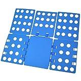 KAIMENG Flip Fold, Kleidung Ordner - Adult Dress Pants T-Shirt Ordner, Ordner Board Organizer, blau(Kunststoff)