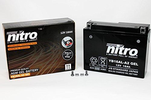 Preisvergleich Produktbild Nitro Gel-Batterie 51616 YB16AL-A2