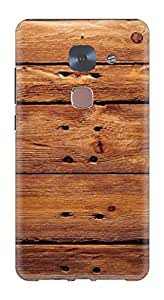 Generic Hard Printed Back Cover for LeEco Le2 (Multicolor)