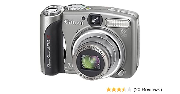 canon powershot a710 is digital camera with image amazon co uk rh amazon co uk