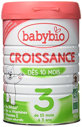 Babybio Lait de Croissance BIO 900 g