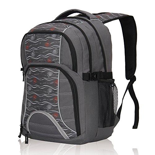 Imagen de veevan bolsas de viaje de negocios laptop colegio  hasta 17 pulgadas  gris
