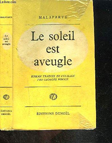 Le Soleil Est Aveugle [Pdf/ePub] eBook