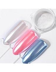 Pure Vie 2 g/box Nagel Pigment Mirror Powder Nail Glitzer Spiegel Effekt Pulver Glitter