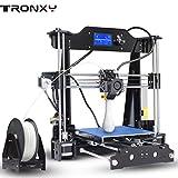 Tronxy X8 3D Drucker Kit Hohe Präzision HD 12864p LCD Genauigkeit MK3 extruder 3d Printer Doppelventilatoren Aluminum Große Druckgröße 220*220*200mm