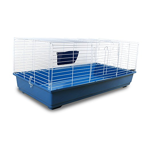 Pet's solution gabbia per conigli e cavie extralarge lunghezza 1,18 mt
