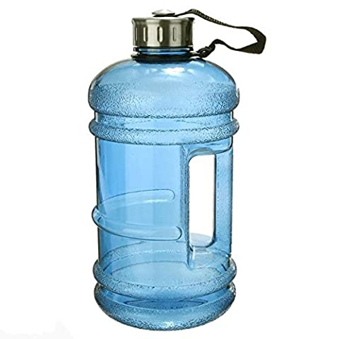 icase4u 2.2L BPA Free Sport Water Bottle Durable & Extra
