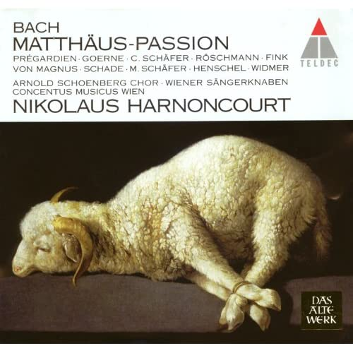 "Bach, JS : St Matthew Passion BWV244 : Part 2 ""Mache Dich, Mein Herze, Rein"" [Bass]"
