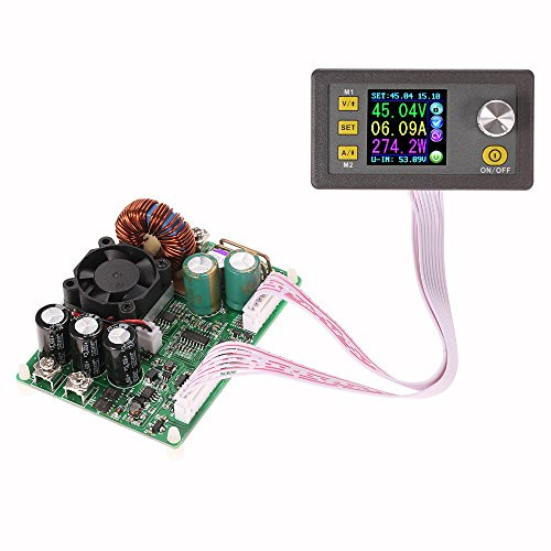 KKmoon LCD Digital Programmierbares Konstantes Spannung Strom Step-down Spg.Versorgungsteil-Modul DC 0-50.00V/0-15.00A¡ Lcd 50