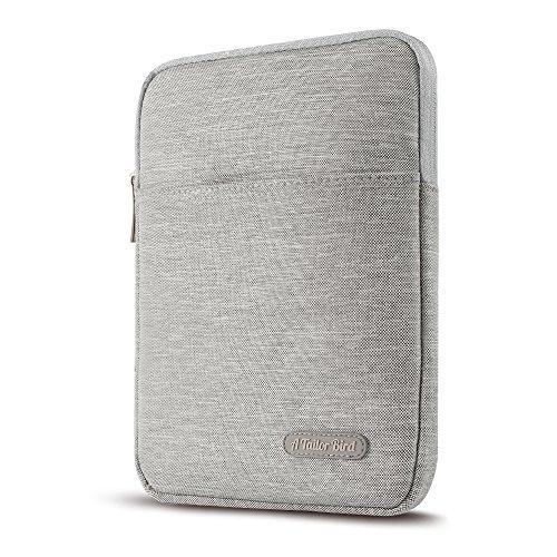 """Pochette Tablette 10"""" Protection,AtailorBird Housse Protection Sacoche 10 Pouces pour iPad Mini 4/iPad Pro 9.7/iPad Air 2/iPad 9.7/Samsung Galaxy Tab E 9.6/Tab S2 9,Tout Tablette 9 à 10 Pouces -GRIS"""