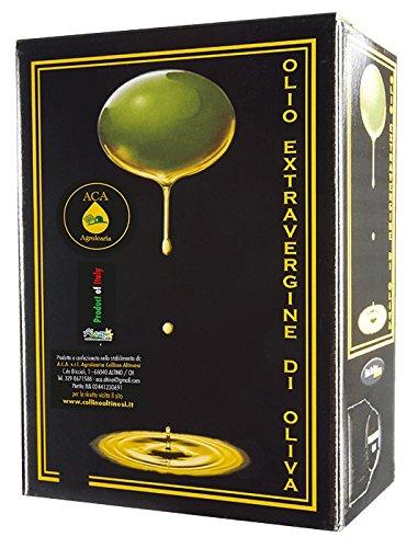 Olio extra vergine d'oliva aca agrolearia - bag in box da 3 litri