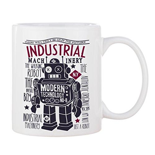 Tasse Roboter