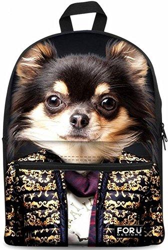 per-u-design-schoolbag-unique-animali-scuola-zaino-zaino-borse-per-laptop-da-156-pollici-mr-animals-