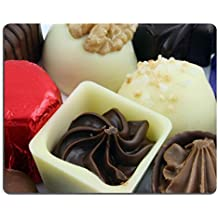 luxlady Tapis de souris gaming Close Up de luxe chocolat image d'identité 824298