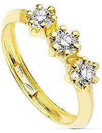 11fa5c844cb1 Amazon.es  anillos mujer oro 18k  Joyería
