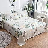 LIAIHONG Weiche, hautfreundliche, atmungsaktive Einzelbettwäsche aus Baumwolle im Format 3 (160 x 230 cm)
